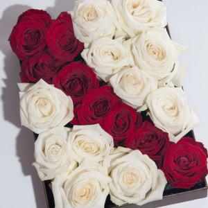 Лукс в бяло и червено