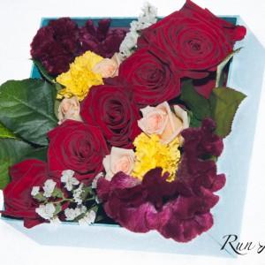 Цветни рози